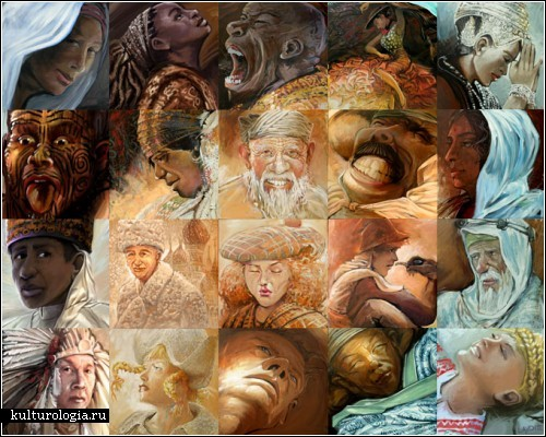 Фрески-мозаики Льюиса Лаво (Lewis Lavoie)