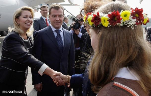 Визит Дмитрия Медведева в Швейцарию