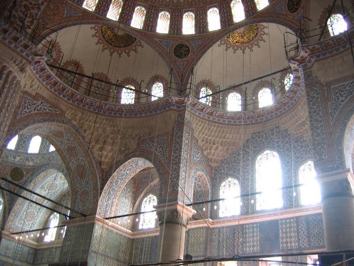 Turquie_-_Istanbul_-_Mosquee_bleue_-_interieur (699x525, 146Kb)