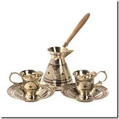 кофейный набор серебро