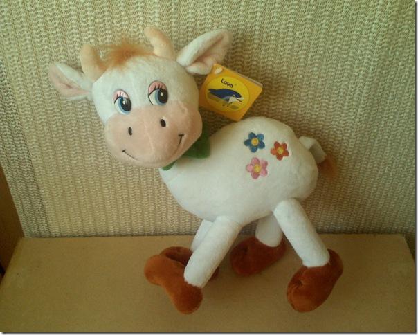 корова - мягкая игрушка
