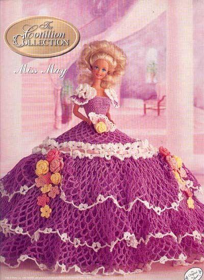 Вязаная одежда для Барби