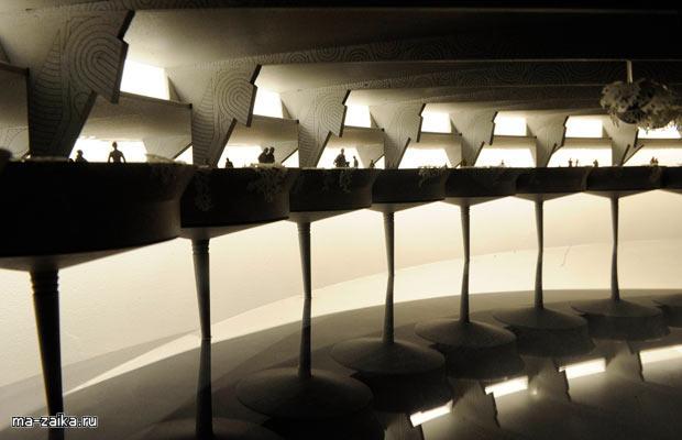Фрэнк Ллойд Райт в Музее Гуггенхайма