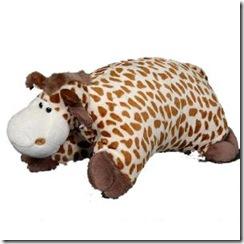 Плюшевый жираф - подушка, игрушка для ребенка