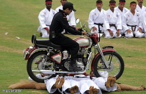 Индийский спецназ в действии