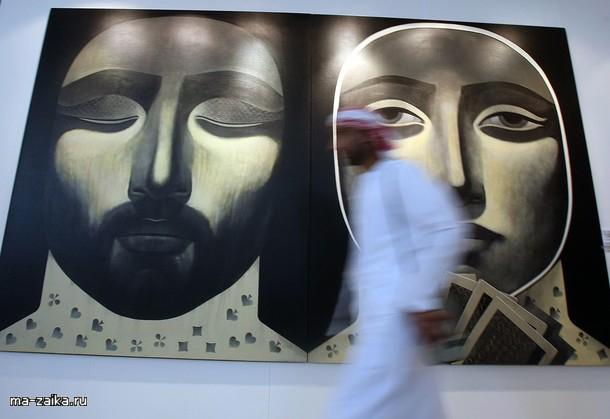 Выставка Christie's в Дубай заливе, 25 октября 2009.