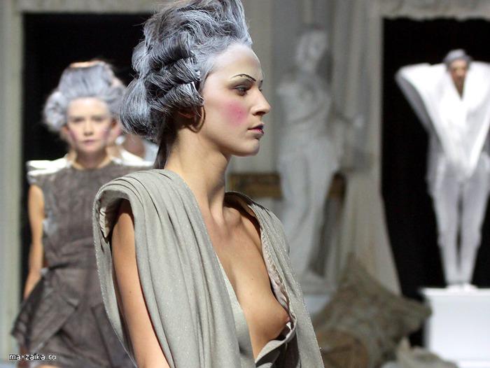 Мода. Показ St. Bessarion на Российской неделе моды