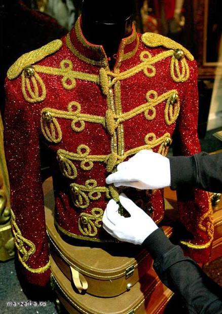 В память о Майкле Джексоне: Выставка This Is It в Bubble O2 в Лондоне.