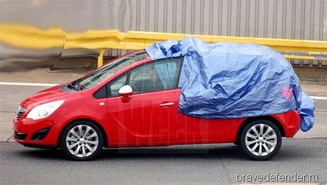 Opel Meriva. Новая жертва фотошпионов
