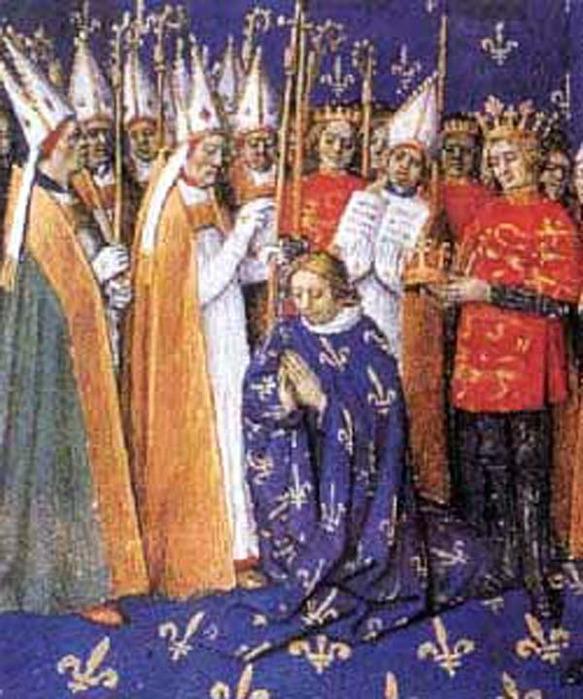 в 1179 году в Реймском соборе