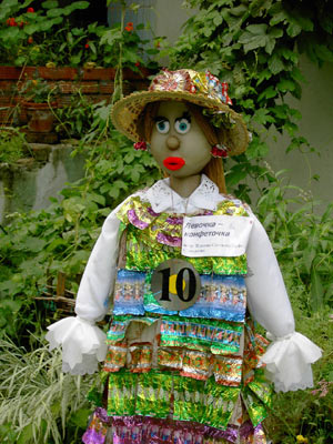 Садовые куклы своими руками мастер класс