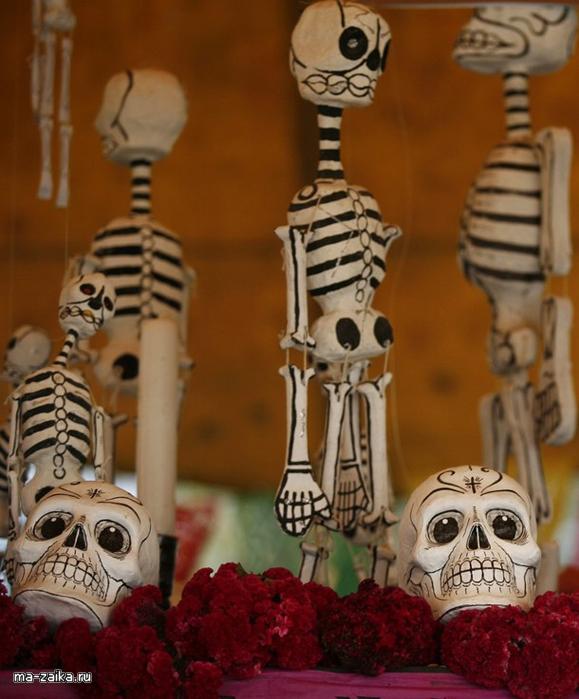 Католики отпраздновали День мертвых, 2 ноября 2009