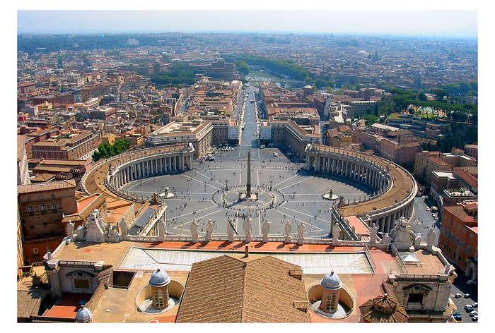 Государство Ватикан – самое маленькое из самых влиятельных