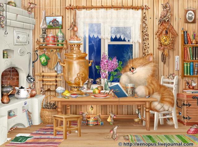 домик котенка (640x475, 75Kb)