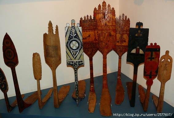 Русские прялки- и обрядовость связанная с прядением