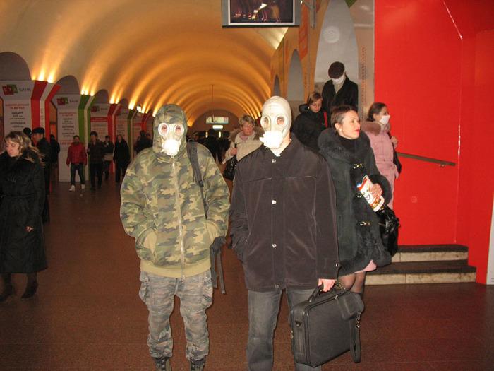 маски противогазы
