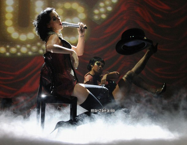 Katy Perry on EMA 2009