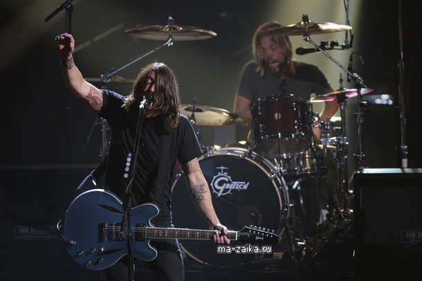 Foo Fighters на EMA 2009