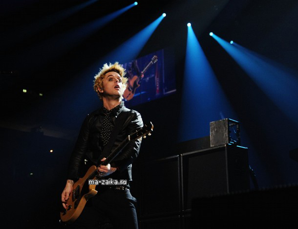 Green Day на EMA 2009
