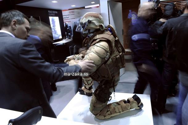 Milipol Французская глобальная ямарка безопасности торговли в Париже, 17 ноября 2009.