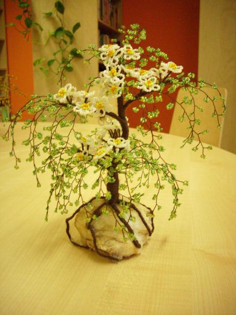 Деревья из бисера 94463