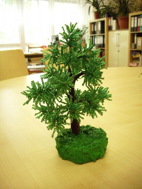 Деревья из бисера 49254