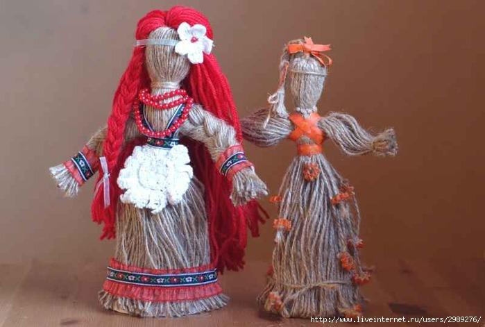 куклы из верёвок