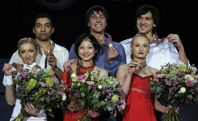 Российские фигуристы устроили праздник в Таллине