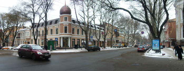одесса, панорама, зима, 2010