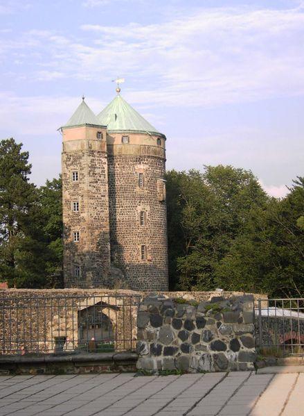 Burg Stolpen-вид снаружи 56506