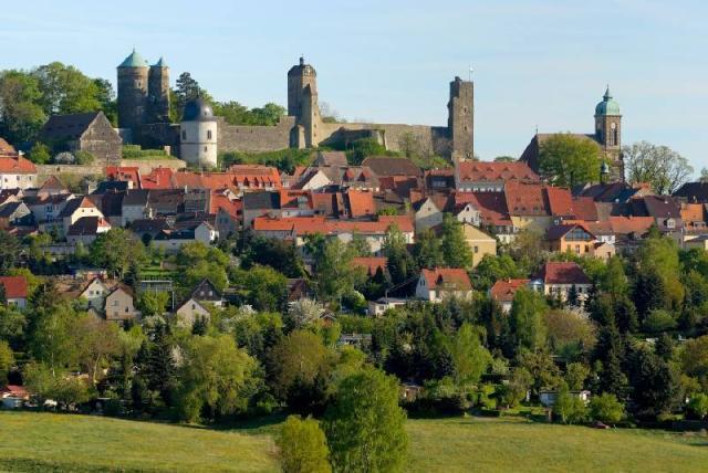 Burg Stolpen-вид снаружи 71578