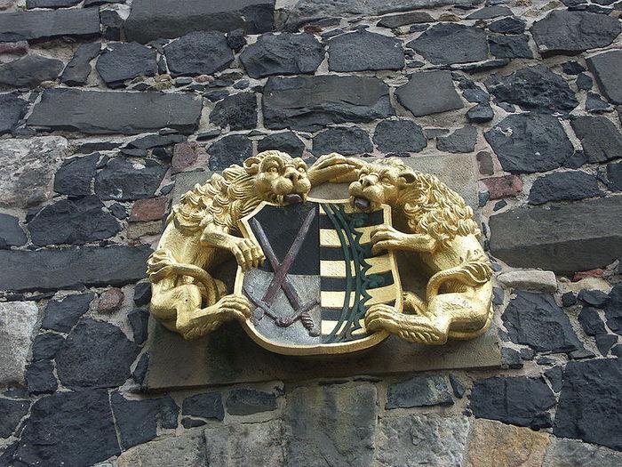 Burg Stolpen-вид снаружи 84369