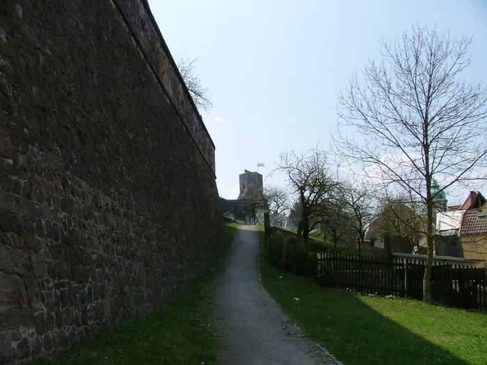 Burg Stolpen-вид снаружи 26595