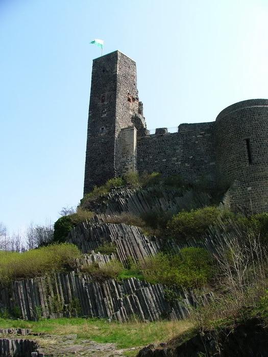 Burg Stolpen-вид снаружи 63477