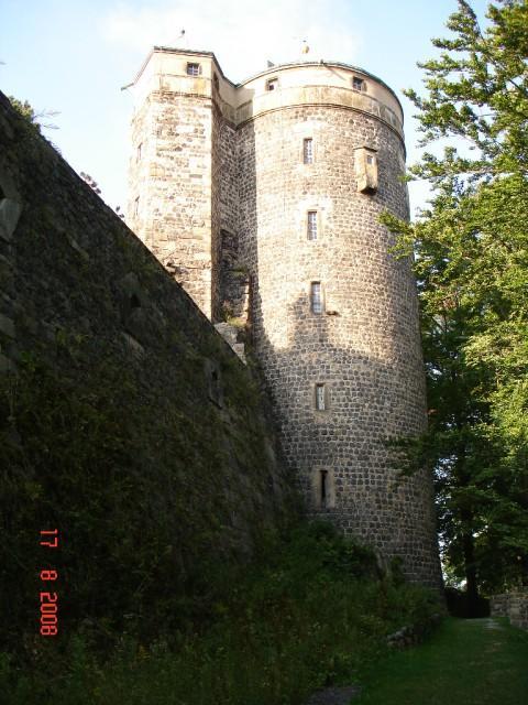 Burg Stolpen-вид снаружи 53874
