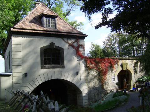 Burg Stolpen-вид снаружи 74423
