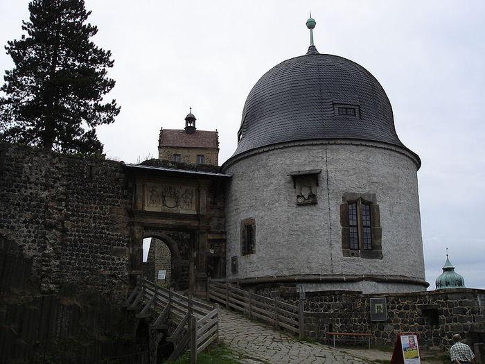 Burg Stolpen-вид снаружи 18972