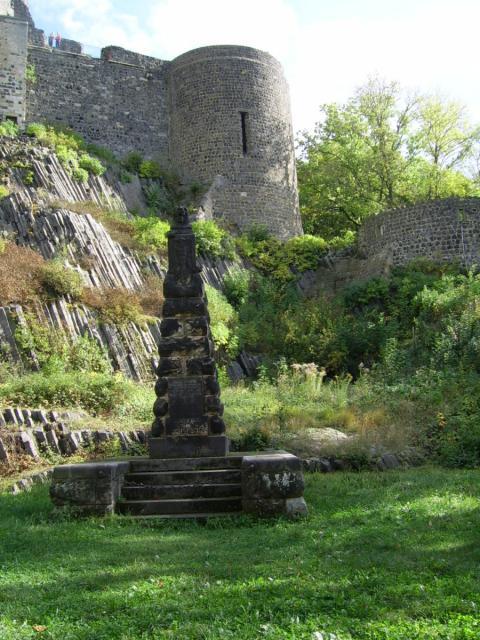Burg Stolpen-вид снаружи 74159
