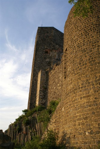 Burg Stolpen-вид снаружи 11386