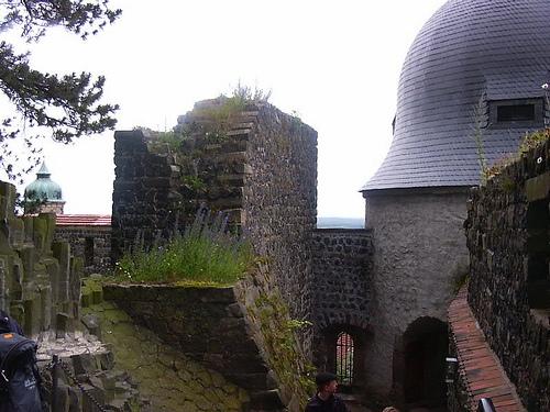 Burg Stolpen-вид снаружи 49657