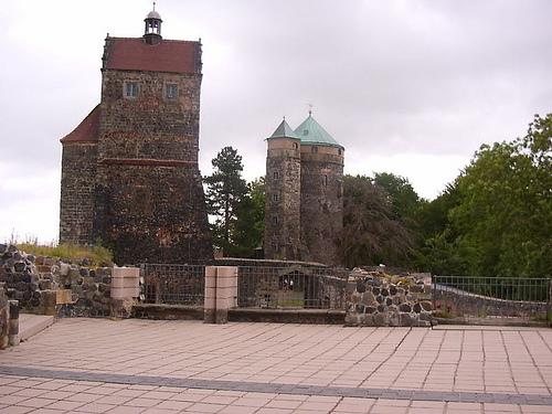 Burg Stolpen-вид снаружи 19600