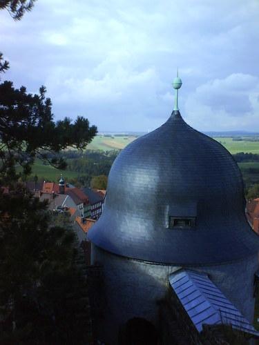 Burg Stolpen-вид снаружи 80879