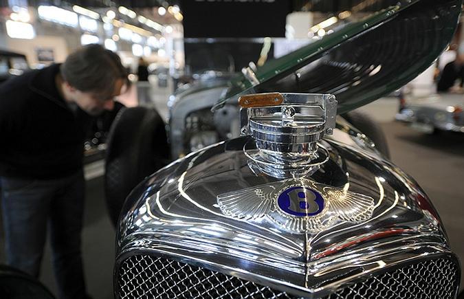 В Париже выставят ретро автомобили