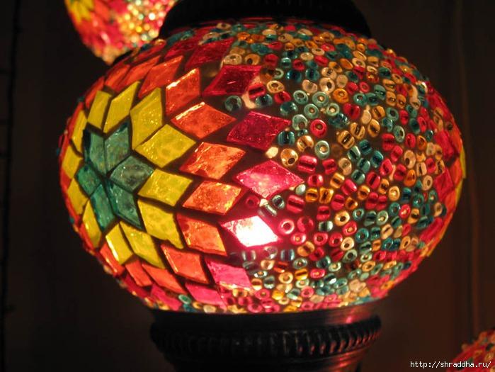 восточный светильник