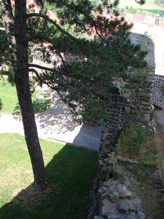 Burg Stolpen-вид снаружи 71376