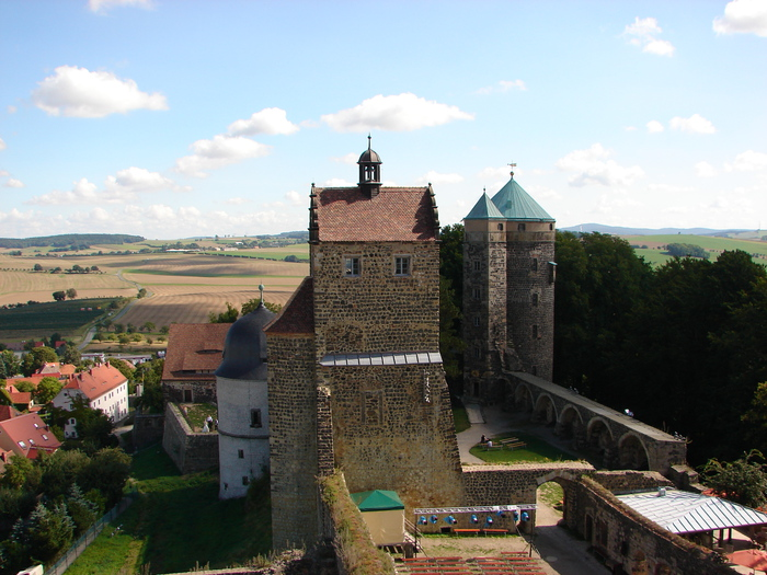 Burg Stolpen-вид снаружи 52054