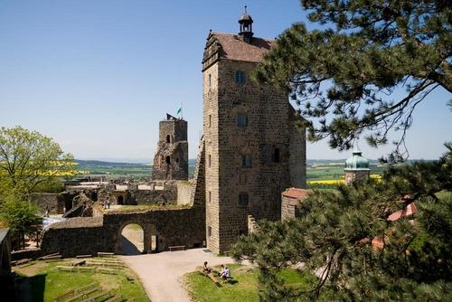 Burg Stolpen-вид снаружи 96990