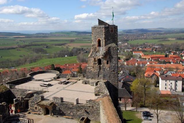 Burg Stolpen-вид снаружи 65771