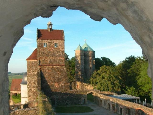 Burg Stolpen-вид снаружи 87724