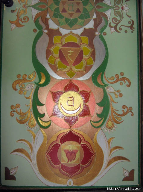 дверь роспись акрилом
